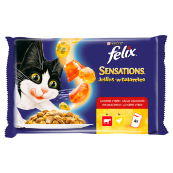 FELIX® Sensations Cat food in a tasty jelly 400 g