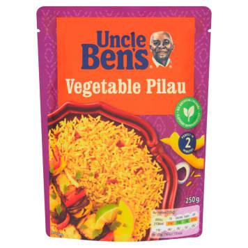 UNCLE BEN'S SPECIAL Ryż pilaw z warzywami 250g