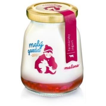 MAŁY GAZDA Jogurt o smaku malin 210g