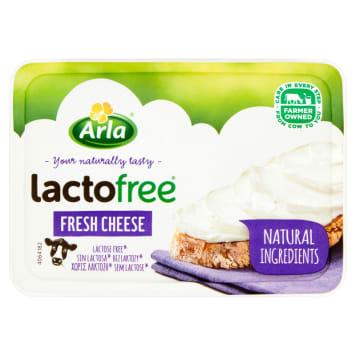 Serek kremowy naturalny bez laktozy - Arla. Produkt idealny dla osób z nietolerancją pokarmową.