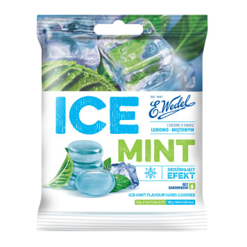 WEDEL Ice Mint Candies with ice-mint flavor 90g