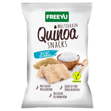 QUINOA Snacks with sea salt 70g