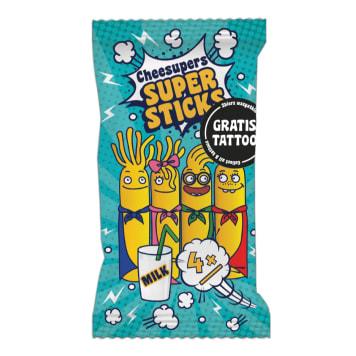 CHEESUPERS Super Sticks with Mozzarella cheese 80g