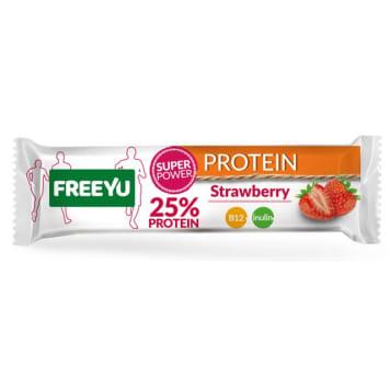 FREEYU PROTEIN Strawberry bar with inulin 40g