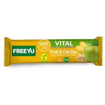 FREEYU VITAL Apple and banana bar with oatmeal 40g