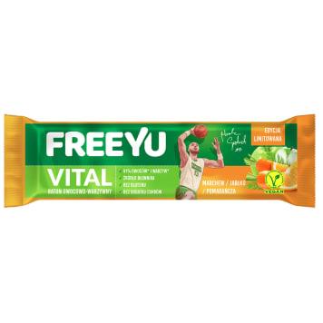 FREEYU VITAL Apple-carrot-orange bar 40g