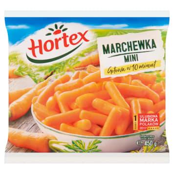 Mrożona mini marchewka – Hortex sprawdzi się jako dodatek do dań obiadowych.