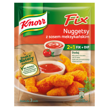 Panierowane nuggets z kurczaka z sosem - Knorr Fix