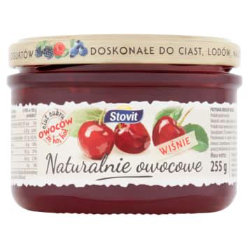 STOVIT Naturalnie owocowe Cherry - a fruit delicacy 255g