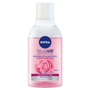 NIVEA MicellAir Skin Breathe Two-phase liquid with rose water 400ml