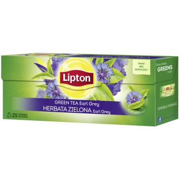 LIPTON Green tea Earl Grey 25 bags 40g
