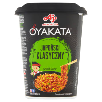 OYAKATA Japanese classic instant dish with sauce 93g