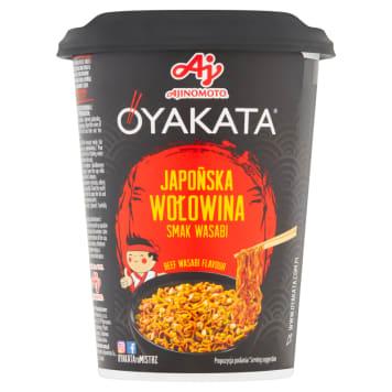 OYAKATA Danie instant z sosem Japońska wołowina smak wasabi 93g