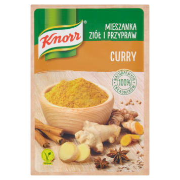 KNORR A mix of herbs and curry spices 20 g