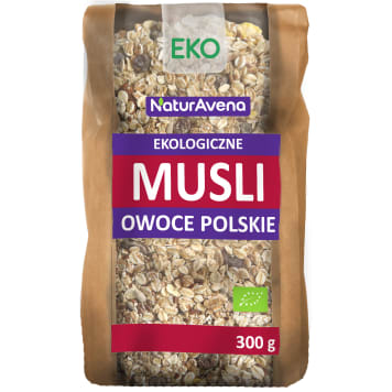 NATURAVENA Muesli fruit Polish BIO 300 g