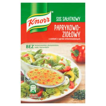 KNORR Paprika and herb salad dressing 9g