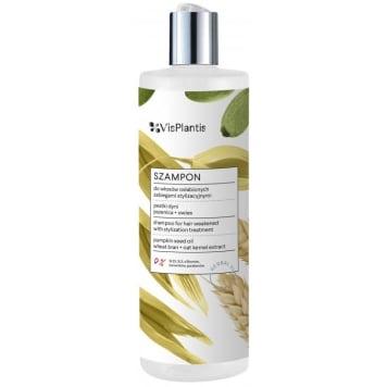 VIS PLANTIS Hair shampoo weakened with stylization treatments - PUMPKIN SEED 400ml