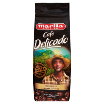 MARILA Cafe Delicado Coffee beans 500g