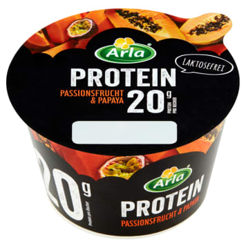 ARLA Protein High-protein cheese with passion fruit and papaya 200g