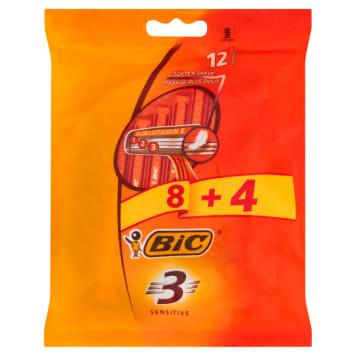 BIC 3 Sensitive Maszynka jednoczęściowa do golenia 12 szt. 1szt