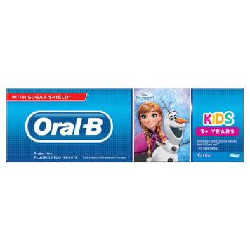 """ORAL-B Kids Toothpaste for children 3+ years old """"Frozen & Cars"""" 75ml"""