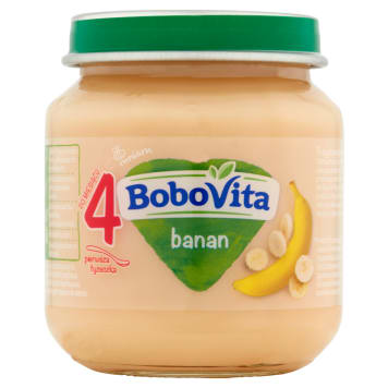 BOBOVITA Creamy banana - after 4 months 125 g