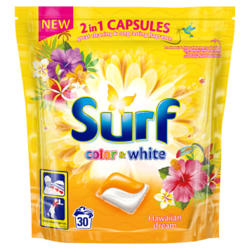 SURF Capsules for washing Hawaii Dream 30 pcs 1pc