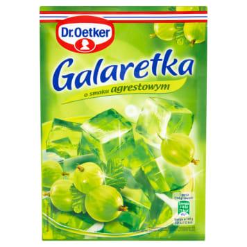 Galaretka agrestowa - Dr. Oetker. Łatwa i szbka w przgowowaniu.