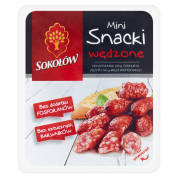 SOKOŁÓW Mini Snack Smoked Salami Snacks 100g