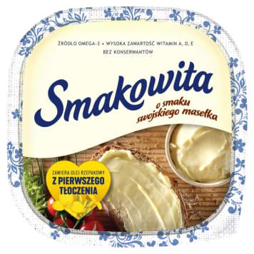 Margaryna ze swojskim masełkiem - Smakowita. Niezastąpiony dodatek do śniadania.
