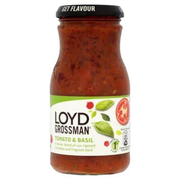 LOYD GROSSMAN Tomato sauce with basil 350g