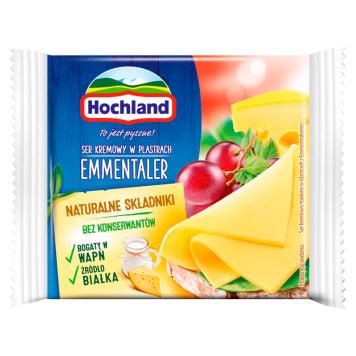 HOCHLAND Cream cheese in Emmentaler slices 130g