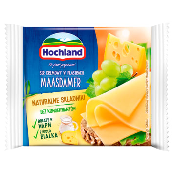 HOCHLAND Cheese melted in Maasdamer slices 130g