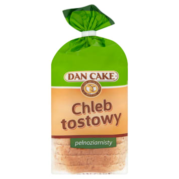 DAN CAKE Toasted wholemeal bread 250g