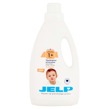 JELP 1+ Hypoallergenic gel for washing the color 1.5 l