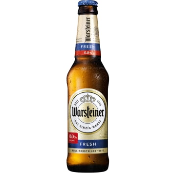 WARSTEINER FRESH Alcohol free beer 1 pc