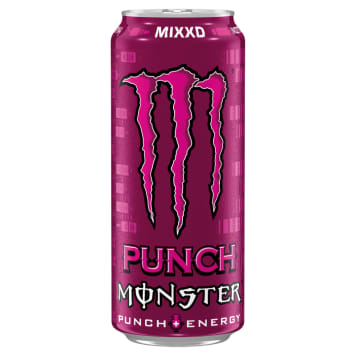 MONSTER Punch Mixxd Energy-aerated drink 500ml