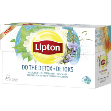LIPTON Herbal tea Detox 20 bags 32 g