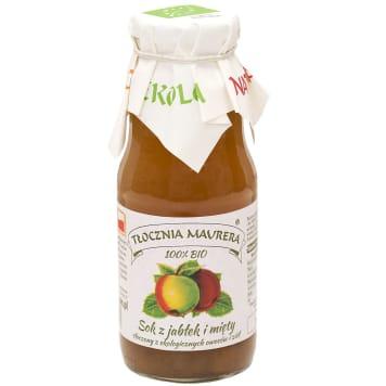 TŁOCZNIA MAURERA Apple juice and mint BIO 300ml