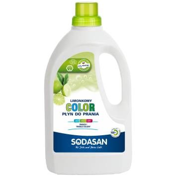 Płyn do prania Color-Detergent - Sodasan. Czystość tkanin i ochrona koloru.