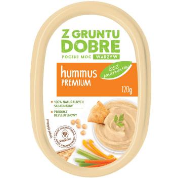 Z GRUNTU DOBRE Hummus Premium 120g