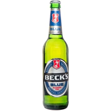 BECK'S BLUE Non-alcohol beer 500ml