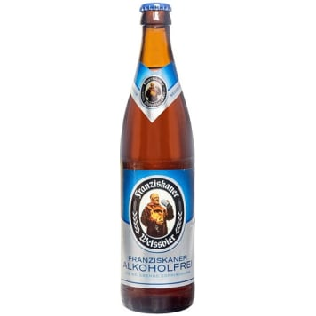 FRANZISKANER Non-alcoholic wheat beer 500 ml