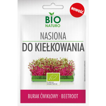 BIONATURO Seeds for sprouting beetroot 10g