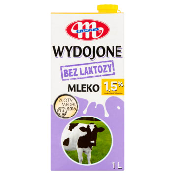 MLEKOVITA Wydojone Milk without lactose 1,5% 1l