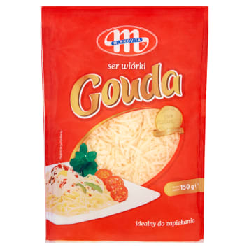MLEKOVITA Gouda shredded cheese 150 g