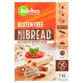 BALVITEN A mixture for baking bread without gluten 1 kg