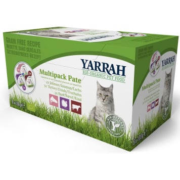 YARRAH Multipack BIO cat food (8x100g) 800 g