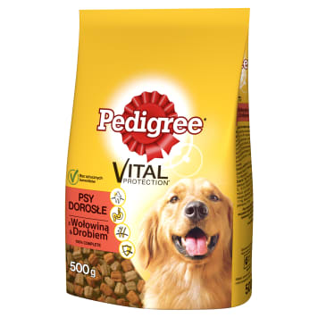 PEDIGREE Adult Complete dry food with Beef and Poultry 500 g