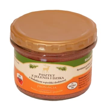 PROVINCJA Terrine and wild boar pate with the addition of chicken livers 180g